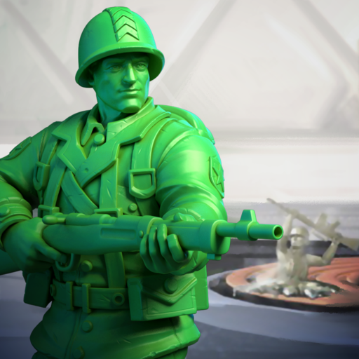 Army Men Strike Military Strategy Simulator  3.87.0 APK MOD (Unlimited Coins) Download
