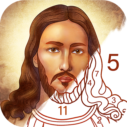 Bible Coloring – Paint by Number, Free Bible Games 2.15.1 APK
