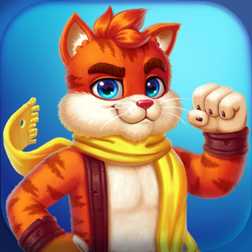 Cat Heroes Match 3 Puzzle Adventure with Cats  64.5.1 APK MOD (Unlimited Coins) Download