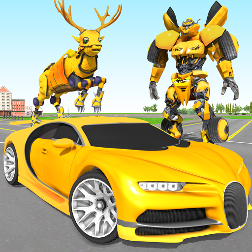 Deer Robot Car Game – Robot Transforming Games 1.0.5 APK