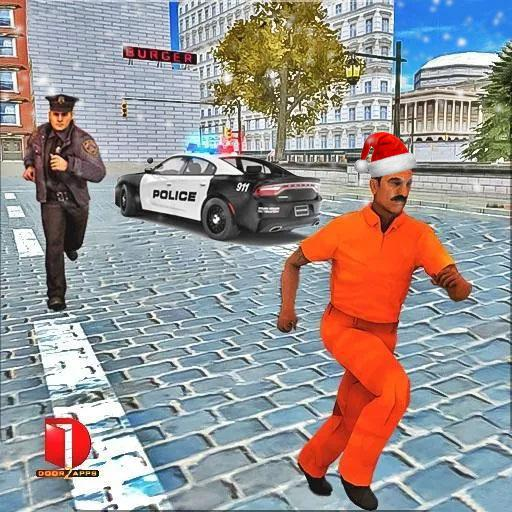 Drive Police Car Gangsters Chase : 2021 Free Games  2.0.08 APK MOD (Unlimited Coins) Download
