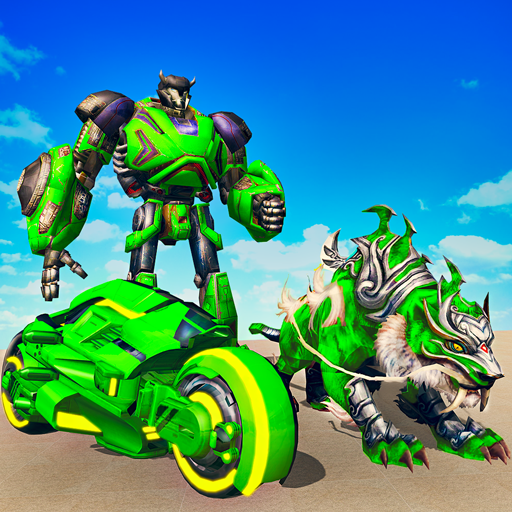 Flying Tiger Attack: Flying Bike Transformation 1.0.6 APK