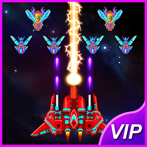 Galaxy Attack: Alien Shooter  33.2 APK MOD (Unlimited Coins) Download