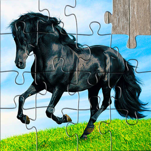 Horse Jigsaw Puzzles Game – For Kids & Adults 🐴 25.2 APK