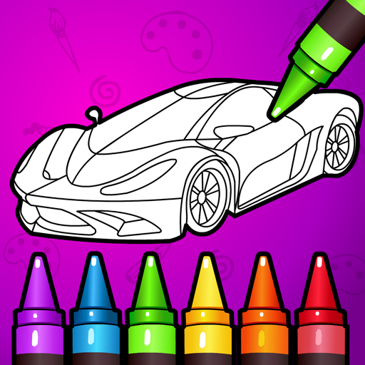 🚗 Learn Coloring & Drawing Car Games for Kids  🎨 7.0 APK