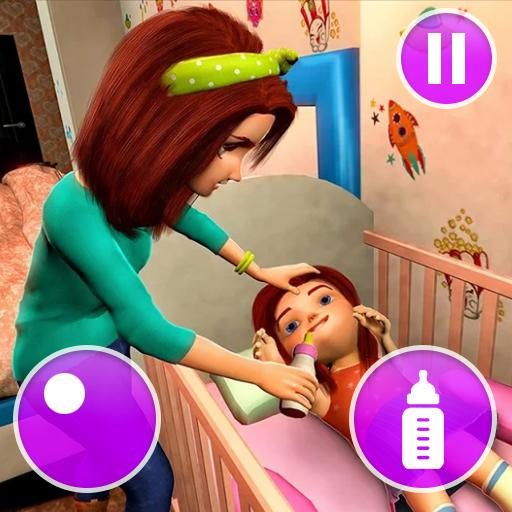 Virtual Mother Game: Family Mom Simulator  1.45 APK MOD (Unlimited Coins) Download
