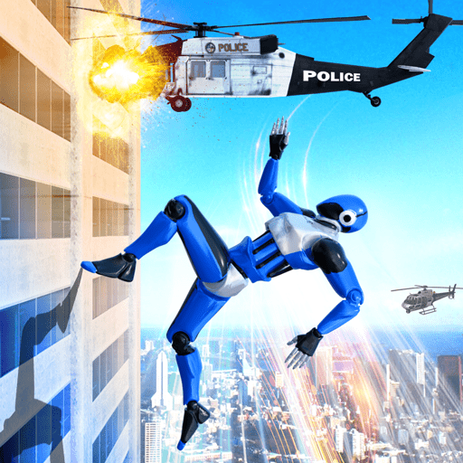 Grand Police Robot Speed Hero City Cop Robot Games  31 APK MOD (Unlimited Coins) Download