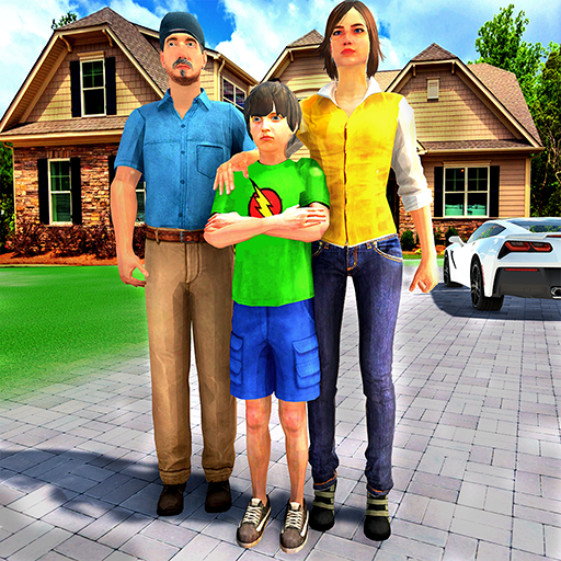 Happy Family Life Dad Mom – Virtual Housewife Care 1.1 APK