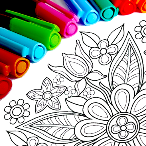 Mandala Coloring Pages  16.0.8 APK MOD (Unlimited Coins) Download