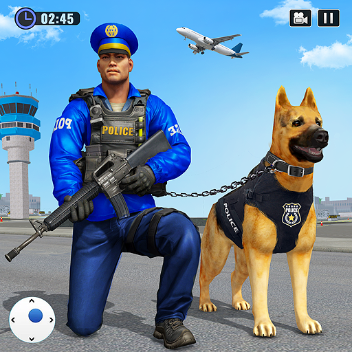 Police Dog Airport Crime Chase : Dog Games 3.1 APK