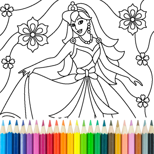 Princess Coloring Game 15.3.8 APK