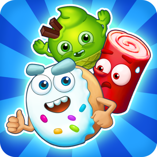 🍒Sugar Heroes – World match 3 game! 1.205.9 APK